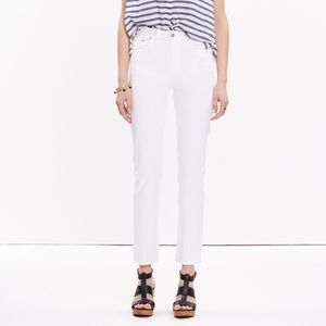 Madewell Straight Crop Jeans